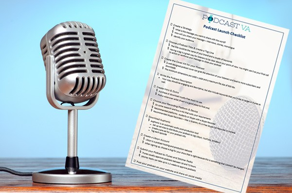Podcast Launch Checklist 2 Copy
